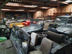 Nekaf Jeep en EX Legervoertuigen Defensie
