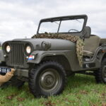 Nekaf Jeep full Matching numbers 1955